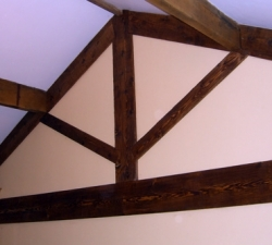 pine-distressed-beams