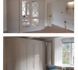 Curved Wardrobes