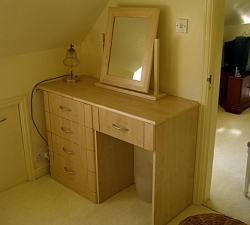 Dressing Table built in Maple
