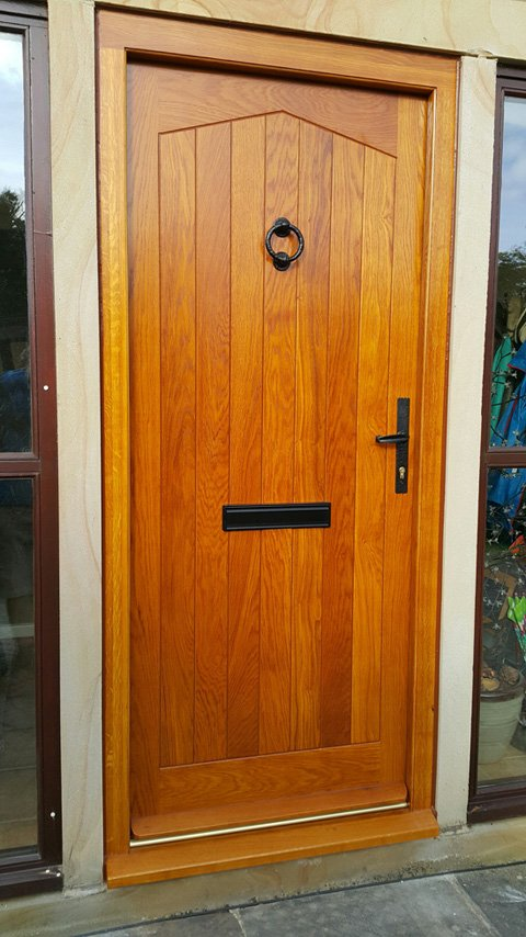 Solid European Oak Door