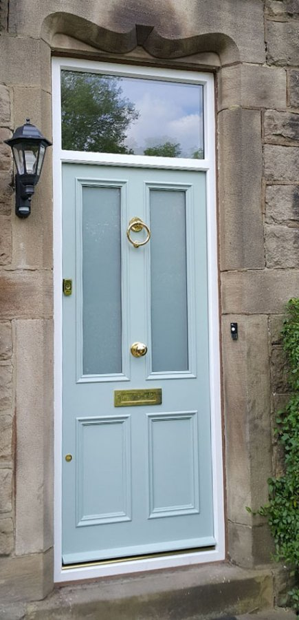 Sapelle Hardwood Entrance Door