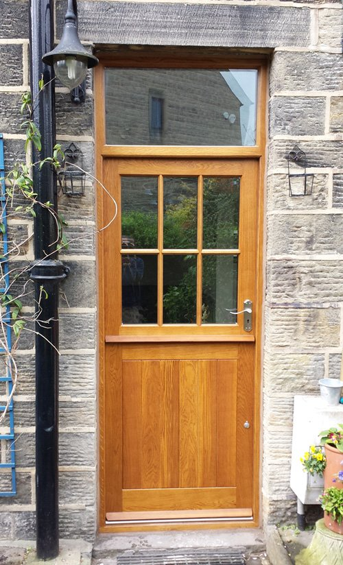 Solid wood doors made to measure near ilkley for External hardwood doors