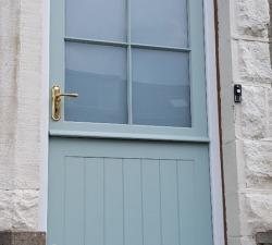 Sapelle Hardwood Rear Entrance External Door