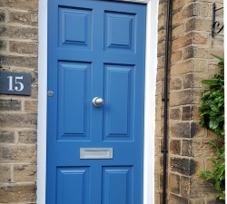Blue Painted Door