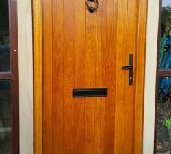 Solid European Oak Door
