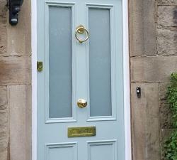 Sapelle Hardwood Entrance Door