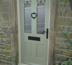 Carved Fretwork Door