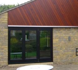 Hardwood Folding Doors Three Door System