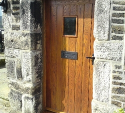 Panelled Ash Door and Frame