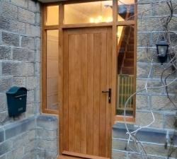 Panelled Solid Oak Door