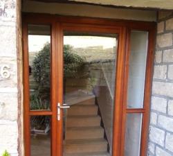 Sapelle Glass Door