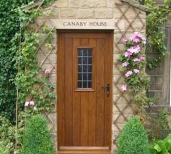 Set of Two Oak Doors