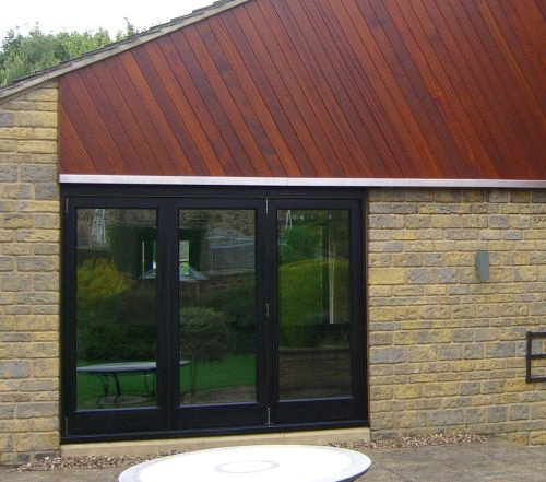 Hardwood Folding Doors Three Door System