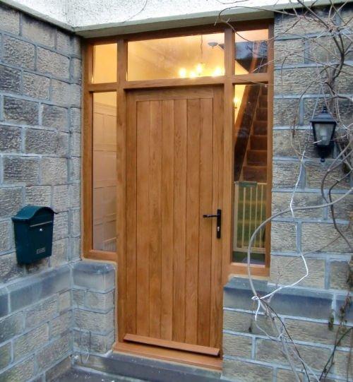 Solid Oak Exterior Door Plans : Solid wood doors made to measure near ilkley