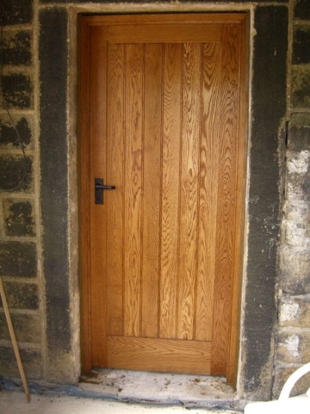 Solid Oak Front Doors And Frames By Awlwood Joinery Pictures To Pin On Pinterest