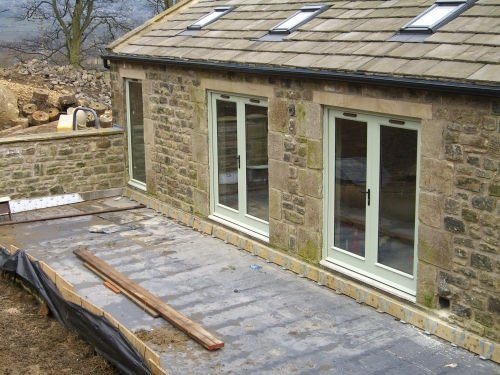 Solid wood doors made to measure near ilkley for Solid patio doors