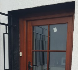 Natural Sapelle Stable Door