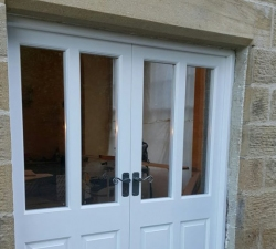 Grade 2 French Doors