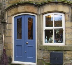 Double Door and Sash Window