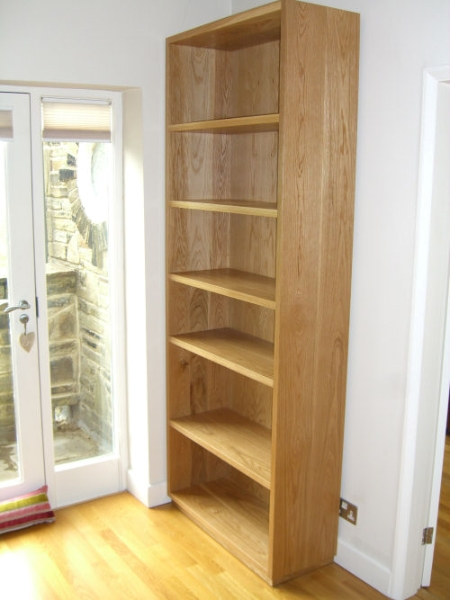 solid-oak-bookcase