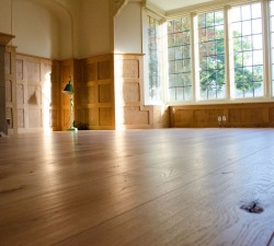 Solid Oak Rustic with Panelling