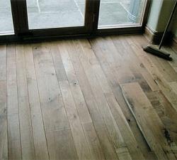 Random Width Oak Flooring
