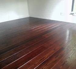 Dark Solid Oak Wood Flooring
