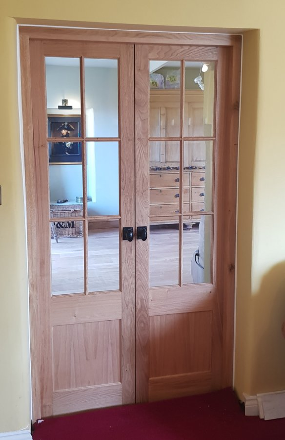Solid Oak Internal Doors
