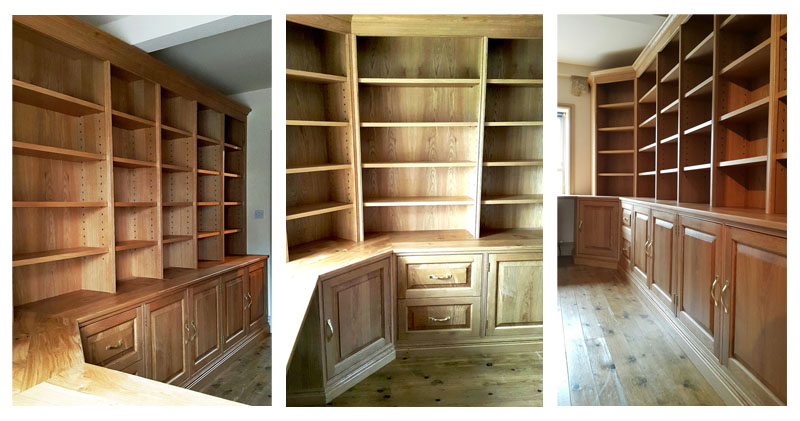 Oak Fitted Office [4]