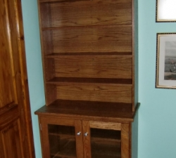 Wooden Oak Bookcase