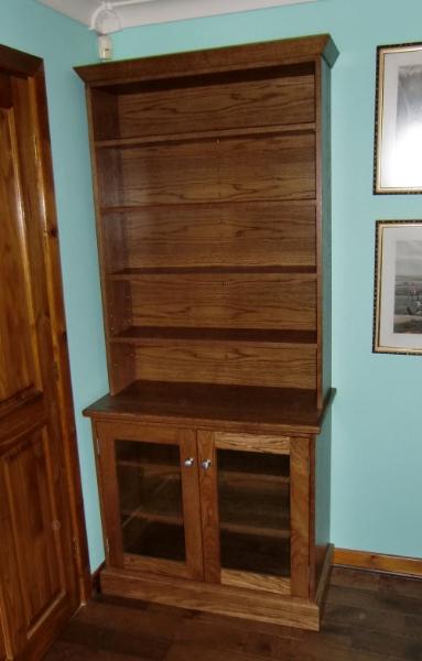 Wooden Oak Bookcase