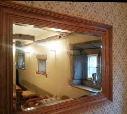 Soild Oak Mirror