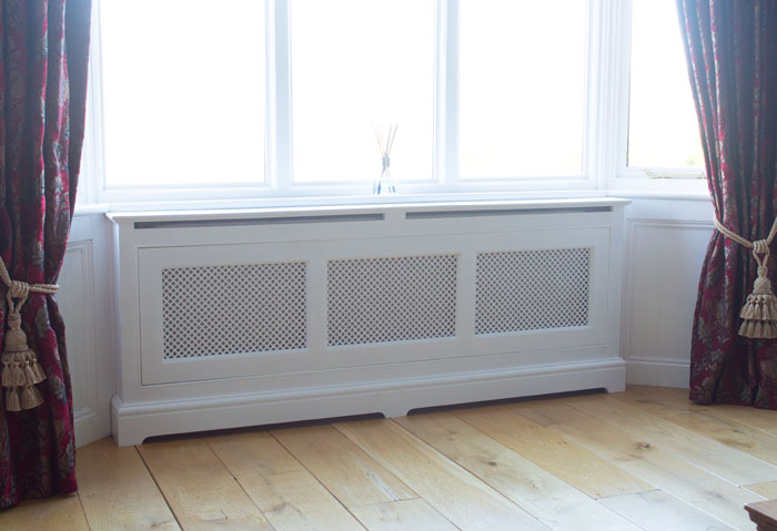 Long Front Room Radiator Cover