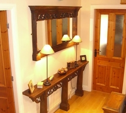 pierced-fretwork-mirror-and-raidiator-shelf