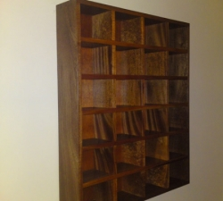 Wooden CD Display Rack