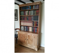 Pippy Oak Bookcase with Background