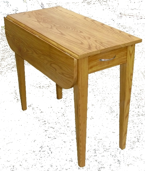 Ash Drop Leaf Table