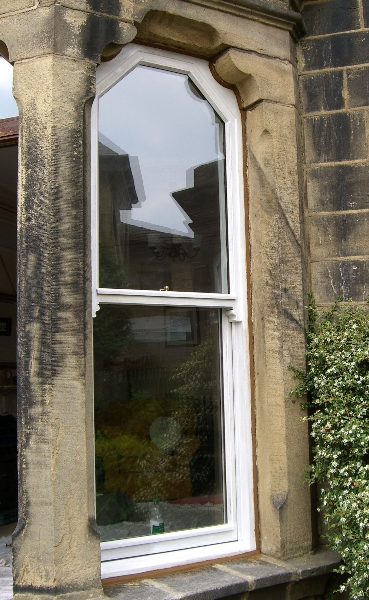 Sash Entrance Window