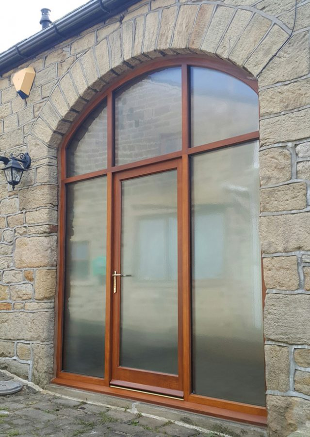 Bespoke wooden barn doors custom built in yorkshire fine for Hardwood entrance doors