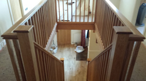 Oak Wooden Staircase Renovation