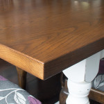 Shabby Chic Farmhouse Table Grain Detail