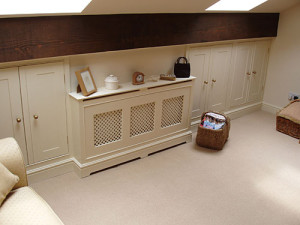 bespoke wooden furniture - radiator cover