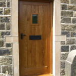 Solid Oak Door & Frame