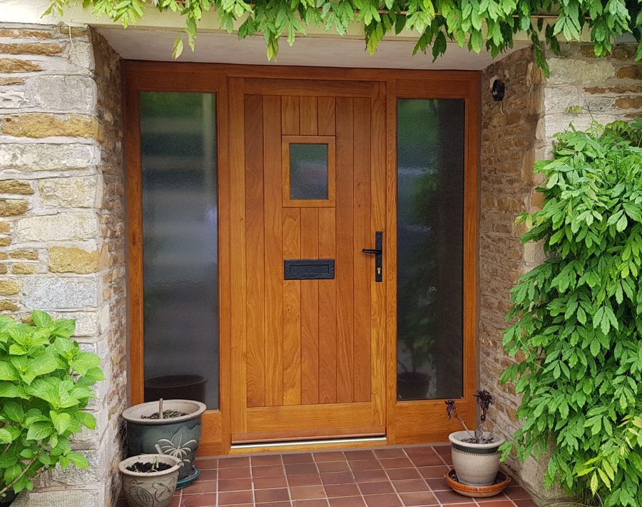 Hardwood Solid Oak External Door