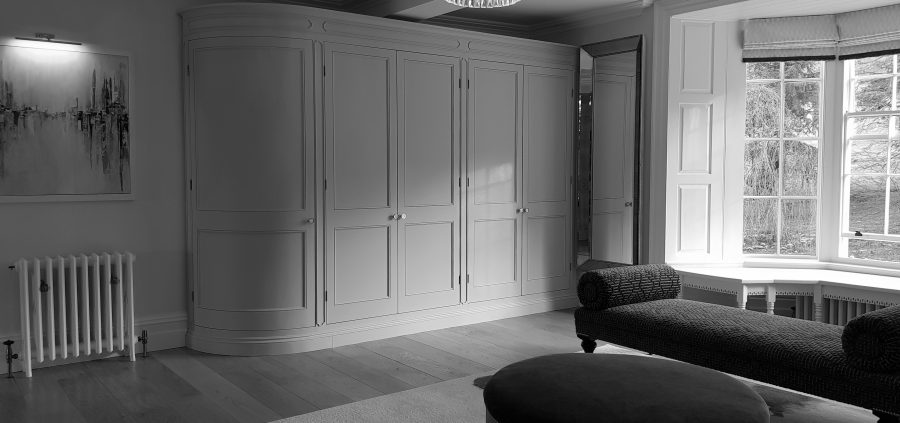 Curved Fitted Wardrobes