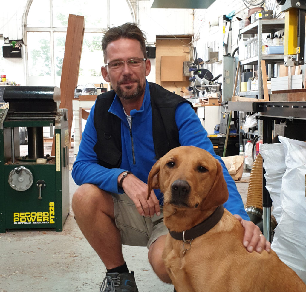 Joinerand Cabinet Maker & Team Dog