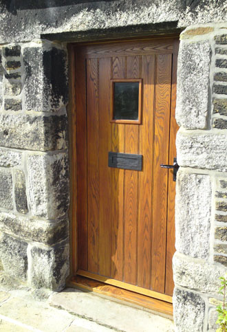 Panelled Ash Door & Frame