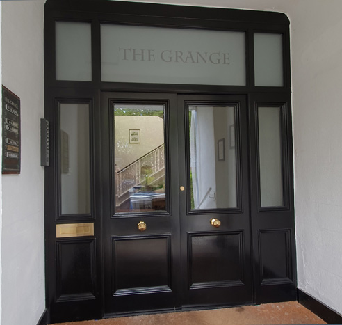 The Grange Apartment External Door