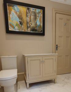 Marble Top Bathroom Vanity Unit